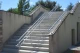 garde corps acier escalier
