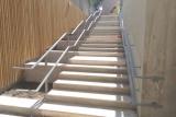 rampe acier escalier double main courante (2)