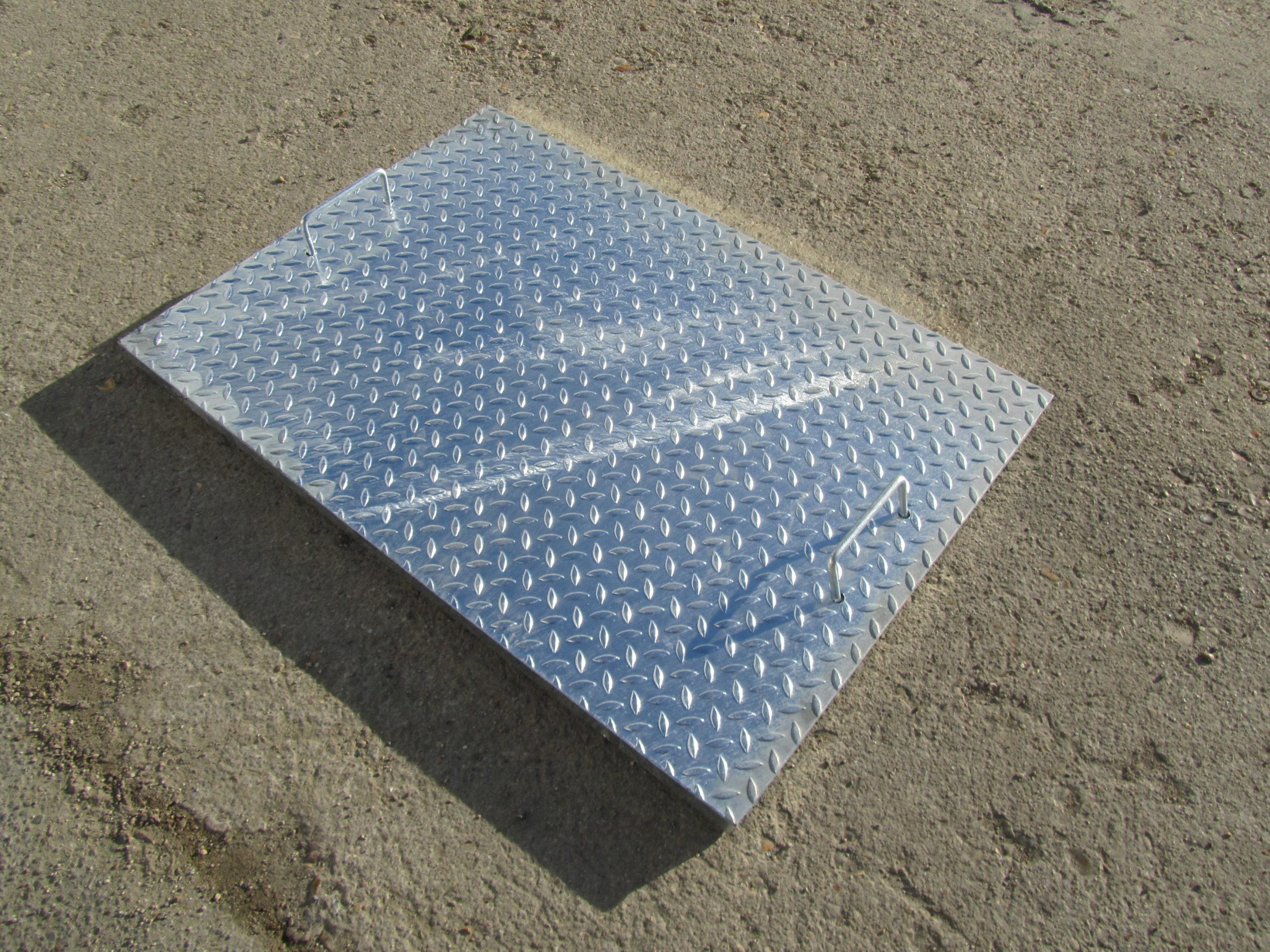 Trappe de sol acier – SCADAMETAL
